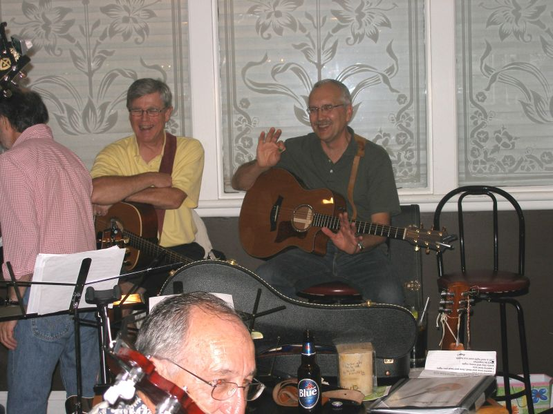 Aurora Folk and Blues party picture