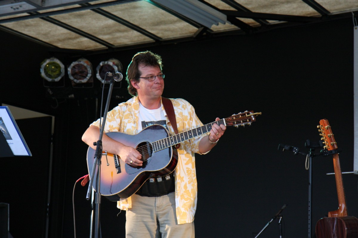 Mark on guitar