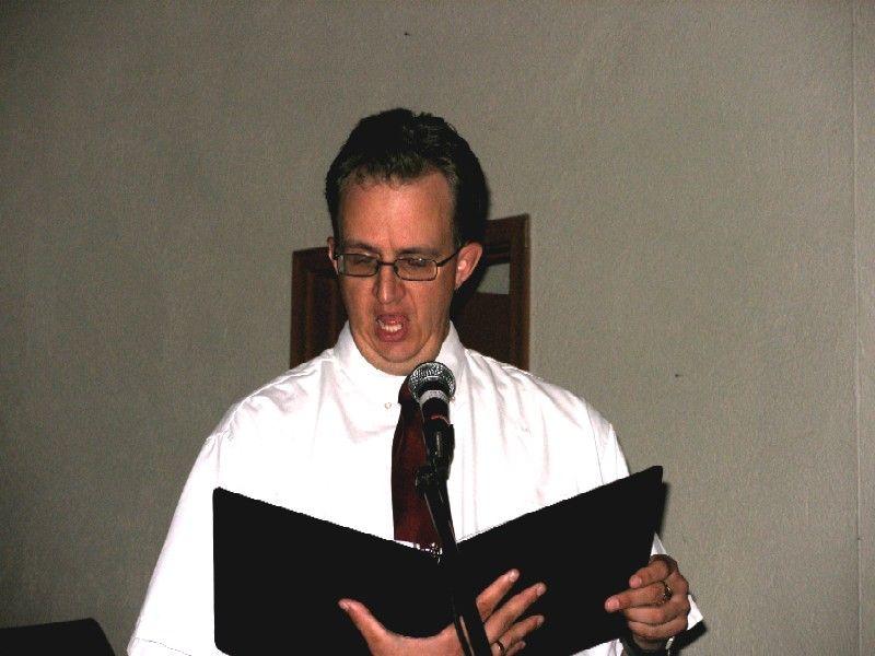 Male choir soloist