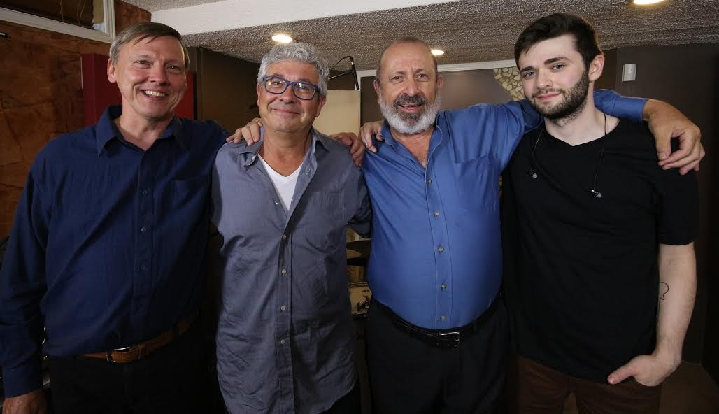 Eric, Burke,Peter,Braedon smiling